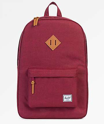 Herschel Supply Co. Heritage Winetasting Crosshatch Backpack