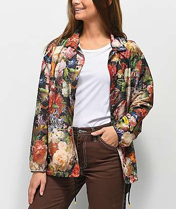 Herschel Supply Co. Hoffman Floral Coaches Jacket