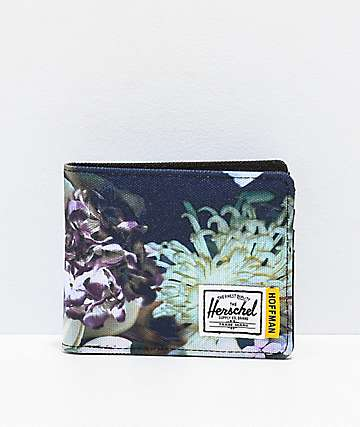 Herschel Supply Co. Hoffman Winter Floral Bifold Wallet
