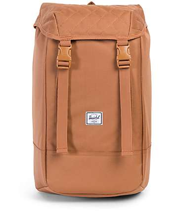 Herschel Supply Co. Iona Caramel Quilted 24L Backpack