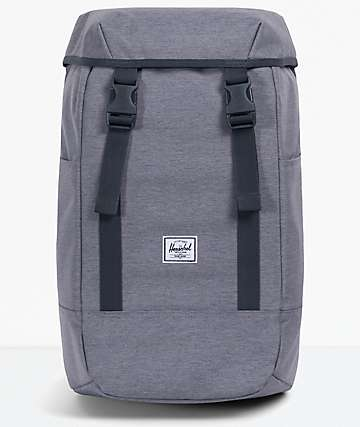 Herschel Supply Co. Iona Grey Crosshatch Backpack