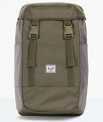 Herschel Supply Co. Iona Ivy Green & Smoke Pearl Backpack