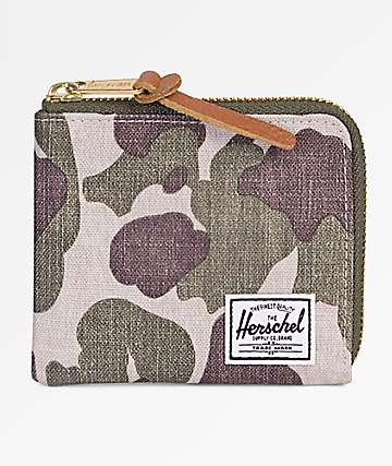 Herschel Supply Co. Johnny Frog Camo Wallet
