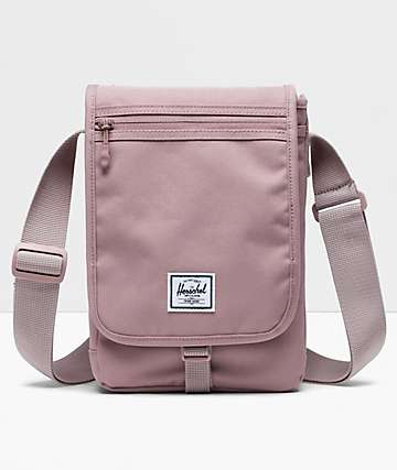 Herschel Supply Co. Lane Messenger Small Ash Rose Crossbody Bag