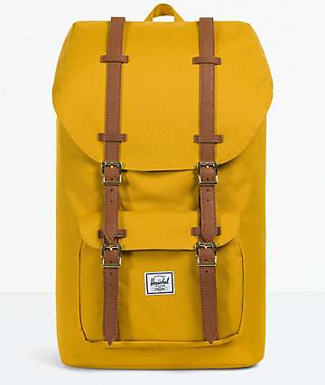 Herschel Supply Co. Little America Arrowwood & Tan Backpack