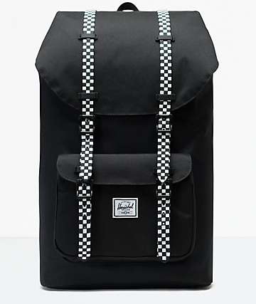 Herschel Supply Co. Little America Black & Checkerboard Backpack