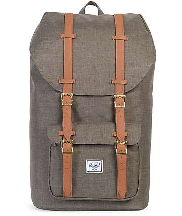 Herschel Supply Co. Little America Canteen Crosshatch 25L Backpack