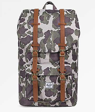 Herschel Supply Co. Little America Frog Camo 25L Backpack