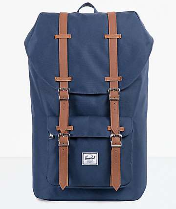 Herschel Supply Co. Little America Navy & Tan Backpack