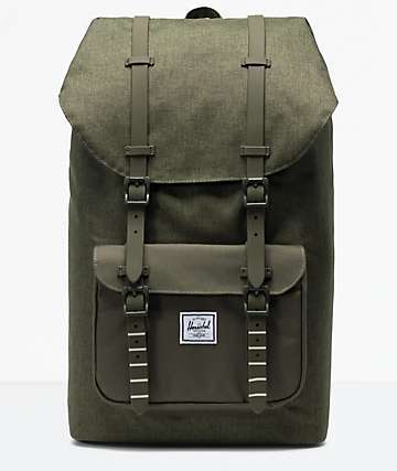 c89317f700 Herschel Supply Co. Little America Olive Night Backpack