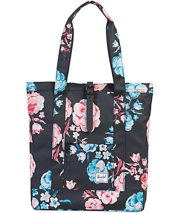 Herschel Supply Co. Market Pastel Petals 16L Tote Bag