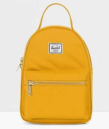 Herschel Supply Co. Nova Arrowhead mini mochila  amarilla