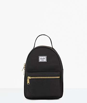 Herschel Supply Co. Nova Black Mini Backpack ffd05957688cb