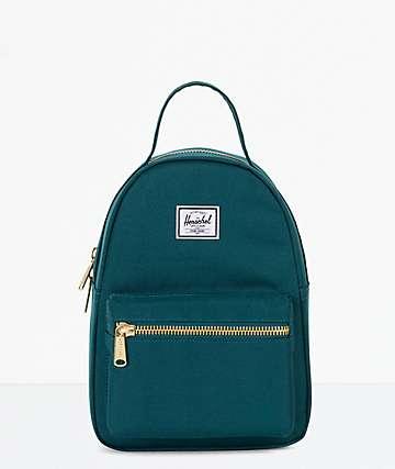 Herschel Supply Co. Nova Extra Small Deep Teal Mini Backpack
