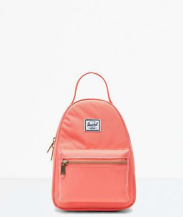 Herschel Supply Co. Nova Fresh Salmon Mini Backpack