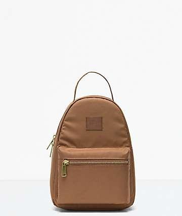 Herschel Supply Co. Nova Light Saddle Brown Mini Backpack