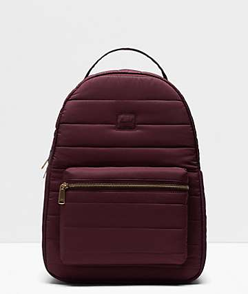 Herschel Supply Co. Nova Mid Quilted Plum Backpack