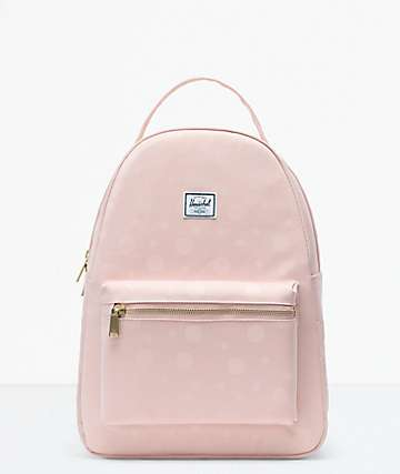 Herschel Supply Co. Nova Mid-Volume Polka Cameo Rose Backpack