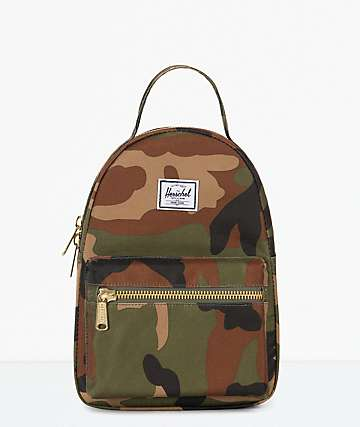 Herschel Supply Co. Nova Woodland Camo Mini Backpack