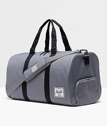 Herschel Supply Co. Novel Grey & Black Duffle Bag