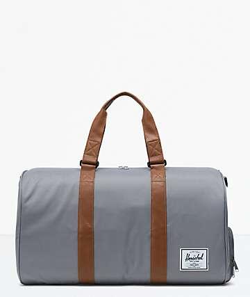 Herschel Supply Co. Novel Grey Duffle Bag