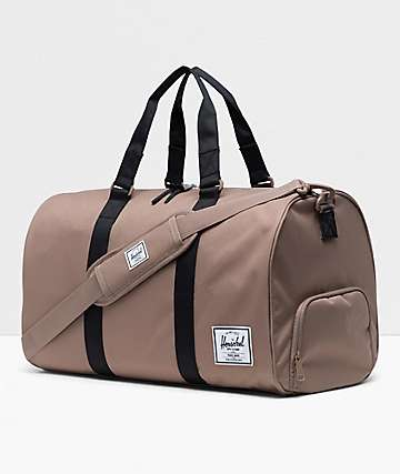 Herschel Supply Co. Novel Pine Bark & Black Duffle Bag