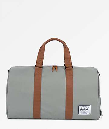 Herschel Supply Co. Novel Shadow & Tan Duffle Bag