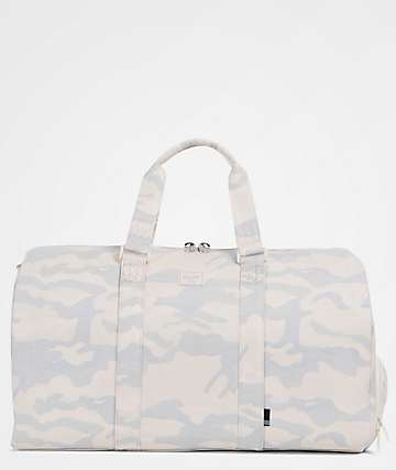 Herschel Supply Co. Novel Washed Canvas Camo 42.5L Duffle Bag