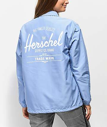 Herschel Supply Co. Pastel Blue Coaches Jacket