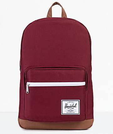 Herschel Supply Co. Pop Quiz 22L mochila en color vino