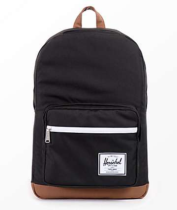 Herschel Supply Co. Pop Quiz 22L mochila en negro y marrón