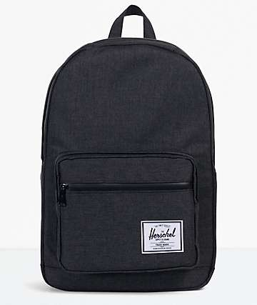 Herschel Supply Co. Pop Quiz Black Crosshatch Backpack
