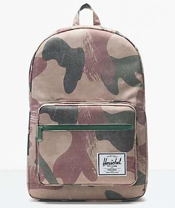 Herschel Supply Co. Pop Quiz Brushstroke Camo Backpack