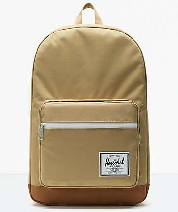 Herschel Supply Co. Pop Quiz Kelp & Saddle Brown Backpack