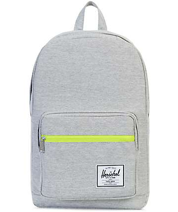 Herschel Supply Co. Pop Quiz Light Grey Crosshatch 22L Backpack