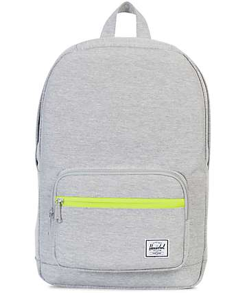 Herschel Supply Co. Pop Quiz Light Grey Crosshatch Mid 15.5L Backpack