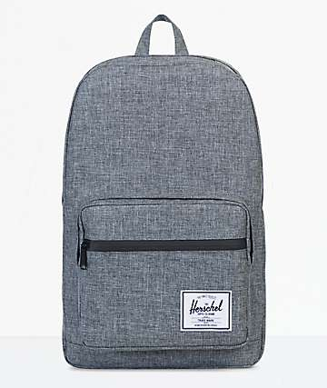 Herschel Supply Co. Pop Quiz Raven Crosshatch 20L Backpack