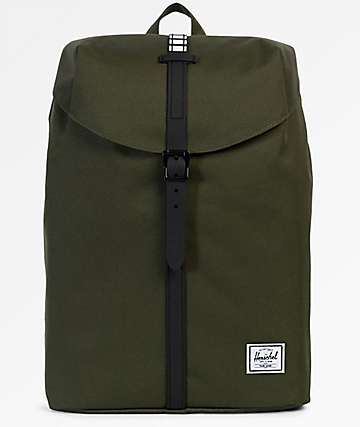 Herschel Supply Co. Post Mid Forest Night & Black 16L Backpack