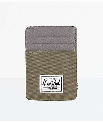 Herschel Supply Co. Raven Ivy Green & Smoked Pearl Cardholder Wallet