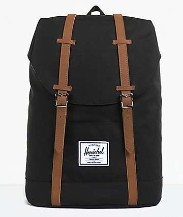 2bbdc008e8 Retreat Black Backpack