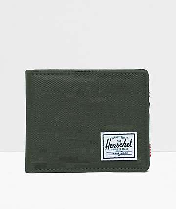 Herschel Supply Co. Roy Dark Olive Bifold Wallet
