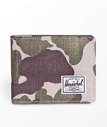Herschel Supply Co. Roy Frog Camo cartera plegable
