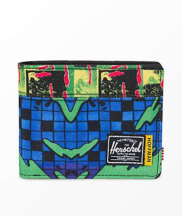 Herschel Supply Co. Roy Hoffman Check Surf Bifold Wallet