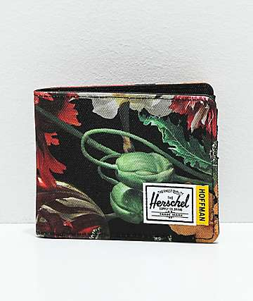 Herschel Supply Co. Roy Hoffman Floral Bifold Wallet