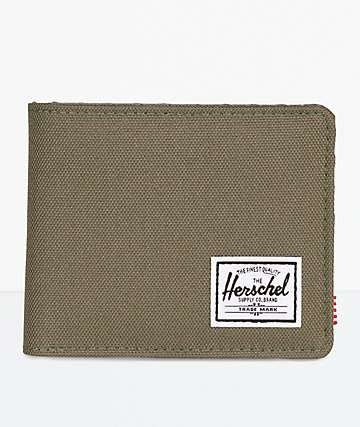Herschel Supply Co. Roy Ivy Green & Smoked Pearl Bifold Wallet