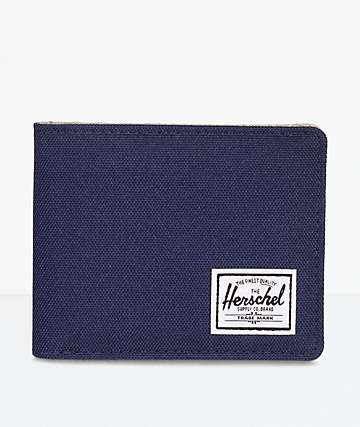 Herschel Supply Co. Roy Peacoat & Eucalyptus Bifold Wallet