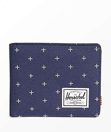 Herschel Supply Co. Roy Peacoat Gridlock cartera plegable