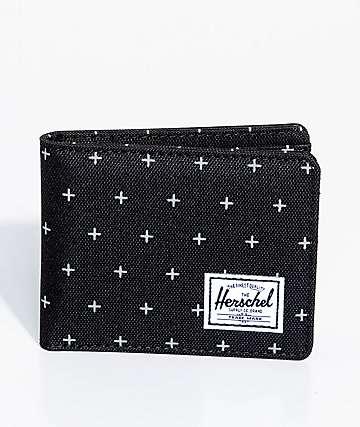Herschel Supply Co. Roy cartera plegable en negro
