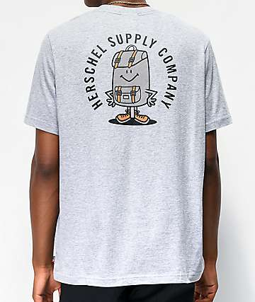 Herschel Supply Co. Sam Back Grey T-Shirt