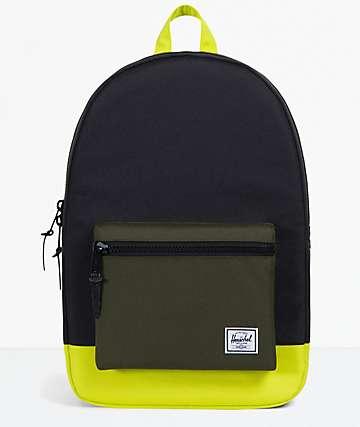 Herschel Supply Co. Settlement Black, Forrest & Primrose Backpack